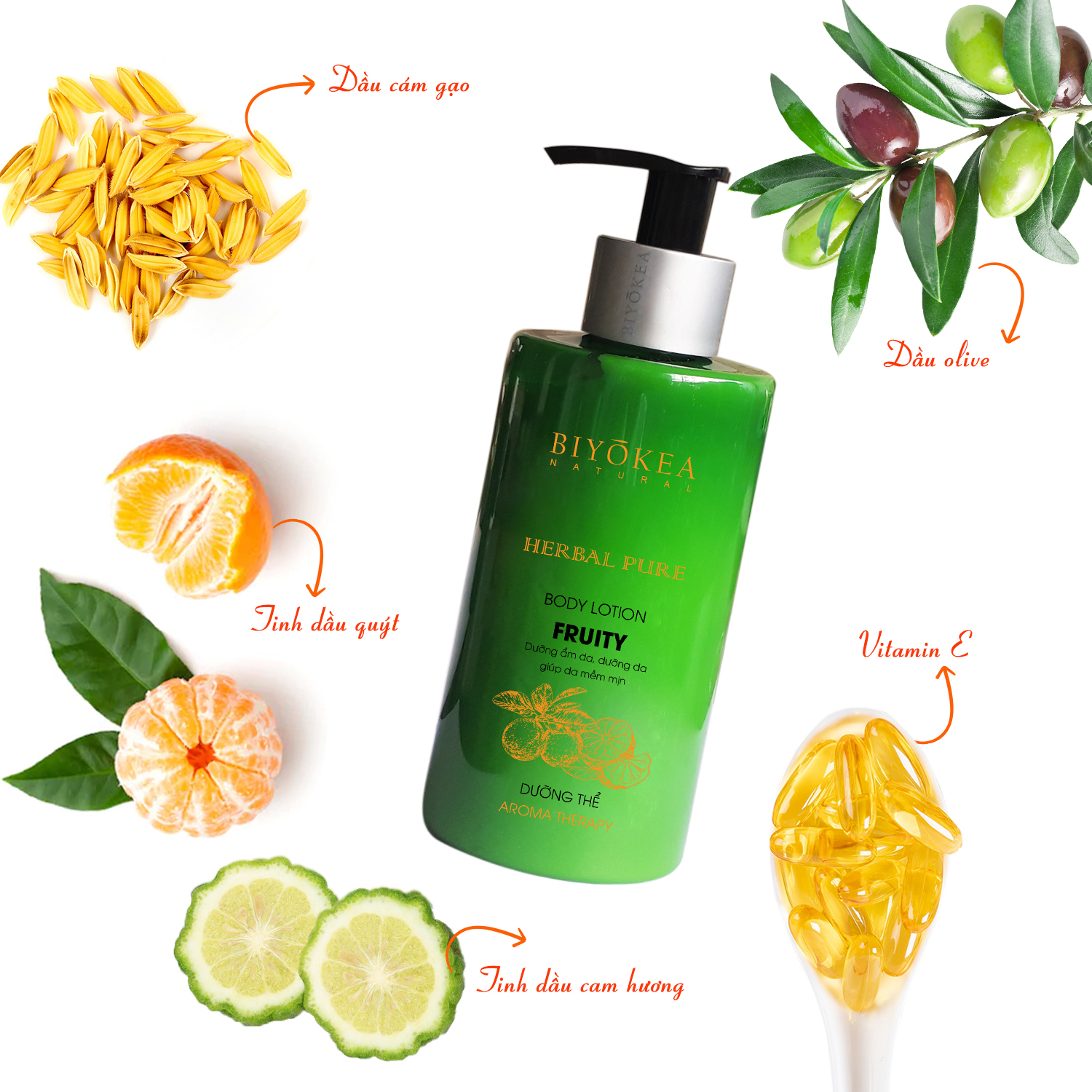 BODY LOTION FRUITY 2